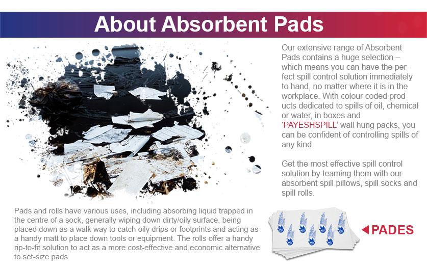 پد جاذب sorbent pads